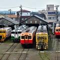 Photos: 小湊鉄道五井機関区