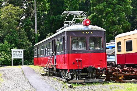 銚子電鉄デハ701@ぽっぽの丘