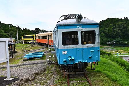 元銚子電鉄デハ702