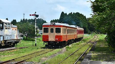 102D急行2号with腕木式信号機