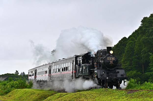 Photos: SLもおか号@八木岡