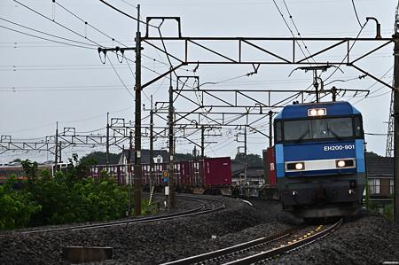 EH200-901牽引高速貨物2092レ