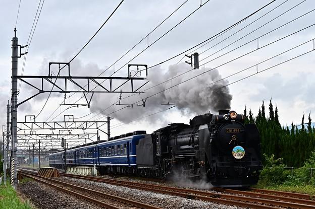 D51 498渋川発車