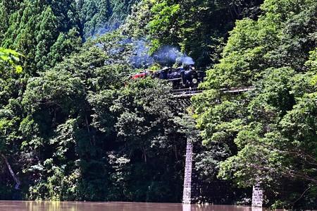 阿賀野川とC57 180