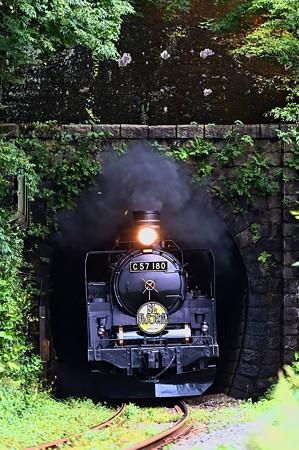 C57 180陣ケ峰トンネル飛びだし