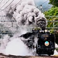 Photos: D51 498+旧型客車 SLぐんまみなかみ号水上発車