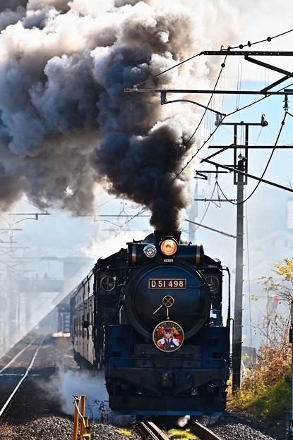 D51 498(鬼滅の刃×SLぐんま~無限列車大作戦~)