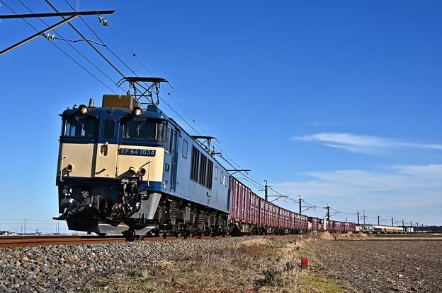 Photos: EF64 1034[愛]鹿島貨物1094レ