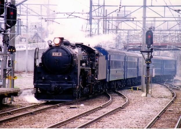 C62ニセコ号小樽入線
