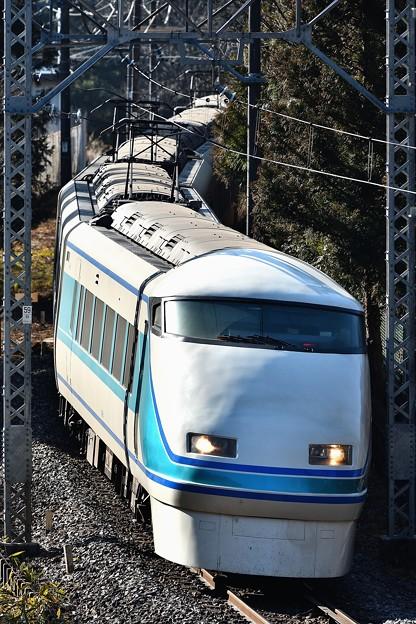 Photos: 東武鉄道100系スペーシア粋編成(縦)