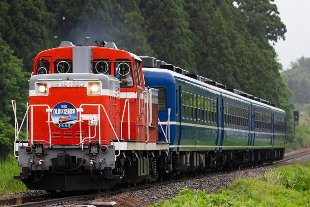 磐越西線 DL青い12系客車 その四