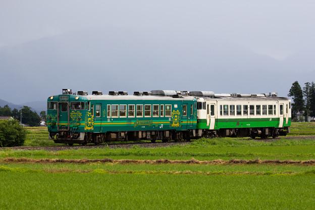 Photos: キハ40重連