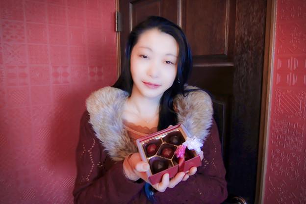 写真: Self chocolate
