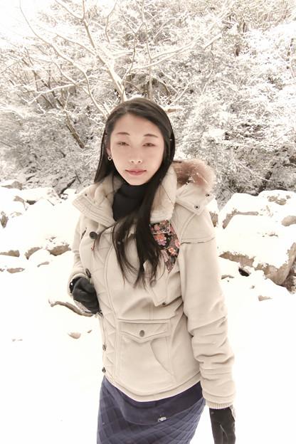 写真: 冬毛