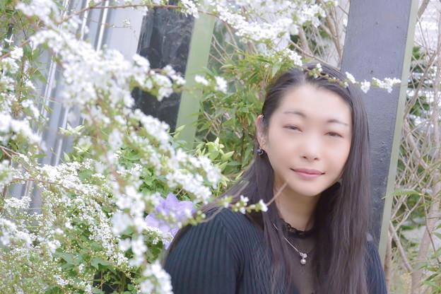 写真: 春寒