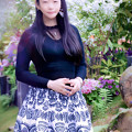 写真: 春暁