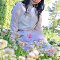 写真: Small white