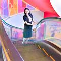 写真: Winding escalators