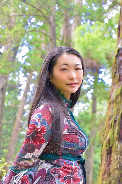 A mountain Maiden