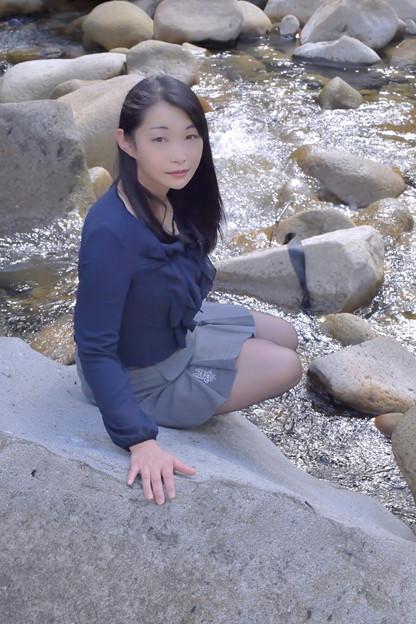 写真: A river where you can make a promise to meet on only one day in a year