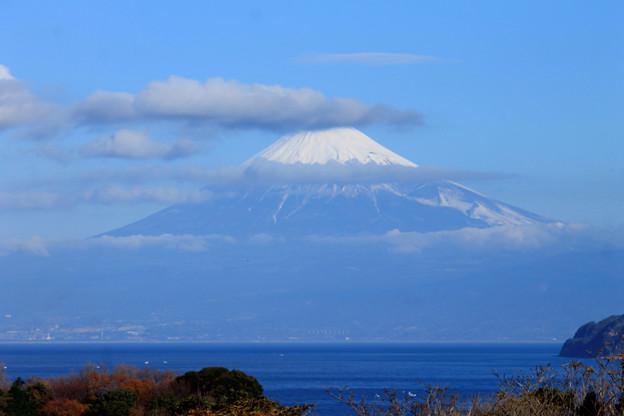 写真: 冬富士