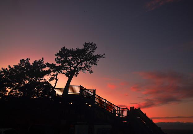Photos: 夕陽観賞