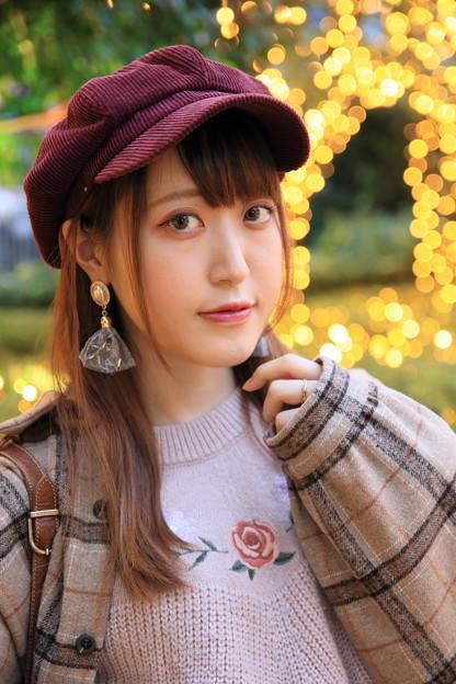 帽子の女の子