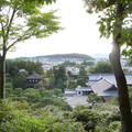 写真: 銀閣寺からの眺め