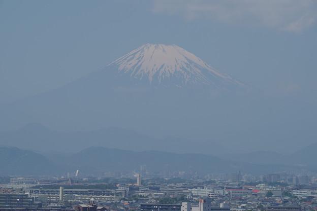 川越より大きな富士山