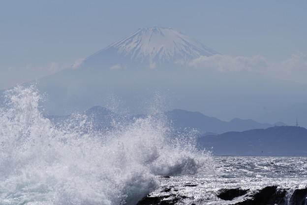 写真: 波が出て来ました。