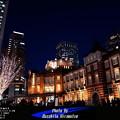 冬の東京駅