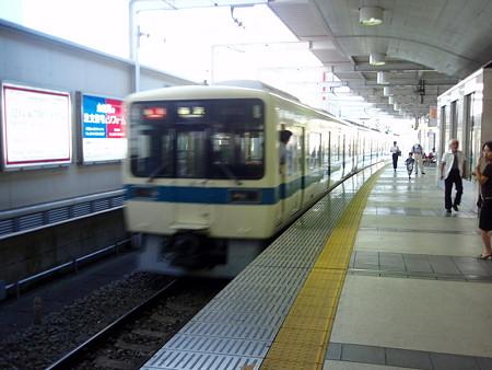 急行藤沢行き(小田急線町田駅)