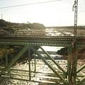 写真: 渋川駅過ぎたところの橋