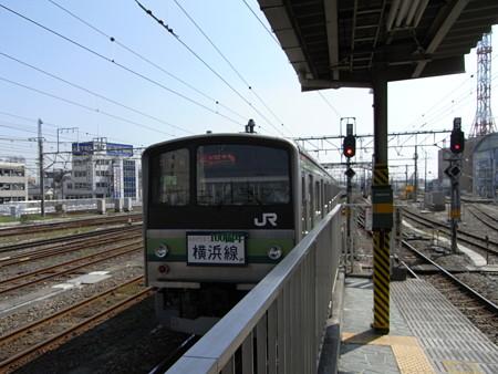 205系横浜線(八王子駅6番線)