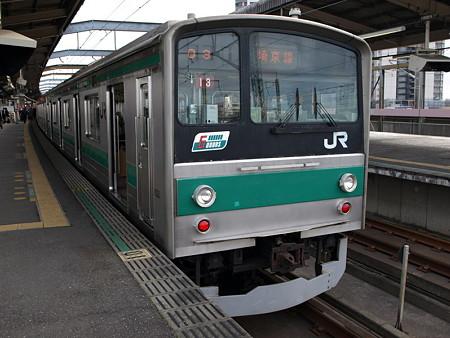 205系埼京線(武蔵浦和駅)