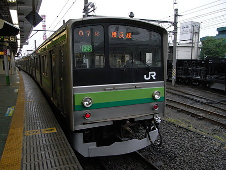 205系横浜線2号車4枚扉の編成(H28)