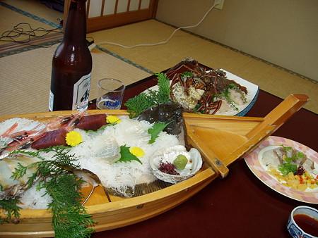 新八屋の料理1