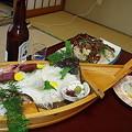 Photos: 新八屋の料理1
