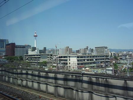 700系からの車窓(京都近辺)