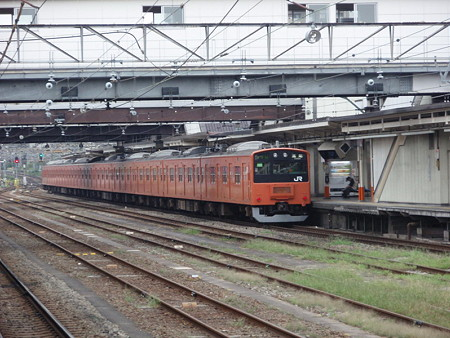 201系中央線(八王子駅)