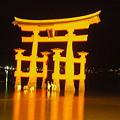 Photos: 厳島神社の鳥居