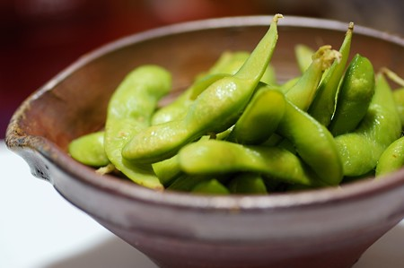半夏生 枝豆