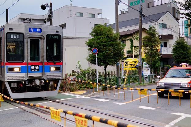 Photos: 京成電鉄 金町線 踏切