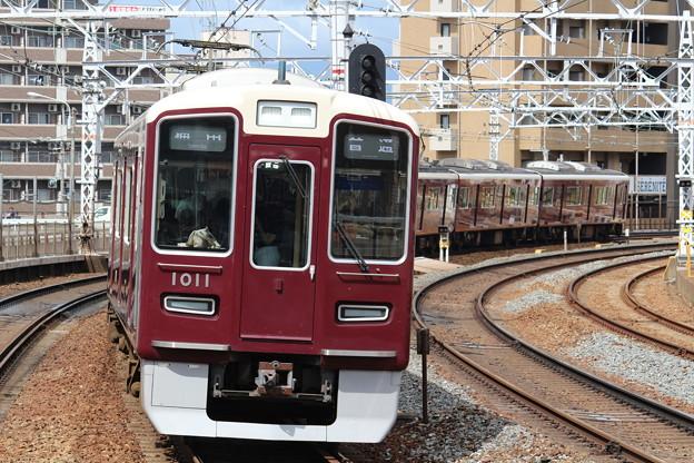 阪急1000系C#1011×8R