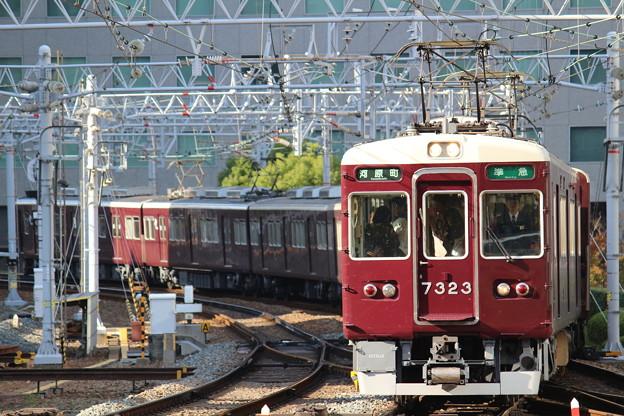 阪急7300系C#7323×8R