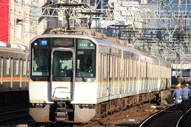 近鉄9020系EE34+同EE24+同EE29