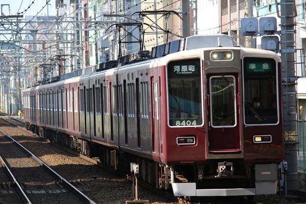 阪急8300系C#8304×6R+7300系C#7326×2R