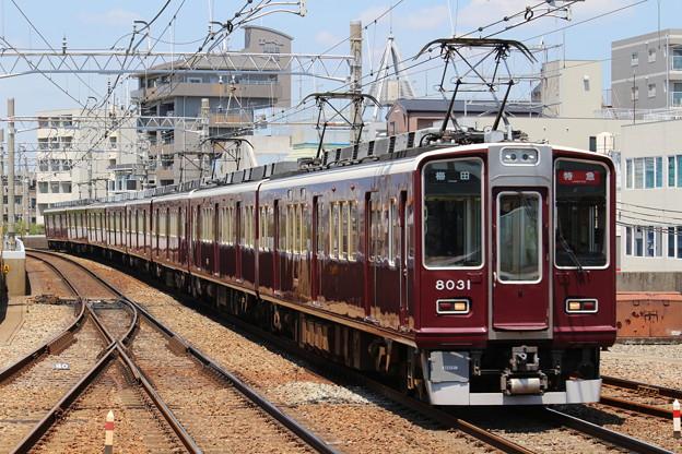 阪急8000系C#8031×2R+7000系C#7001×6R