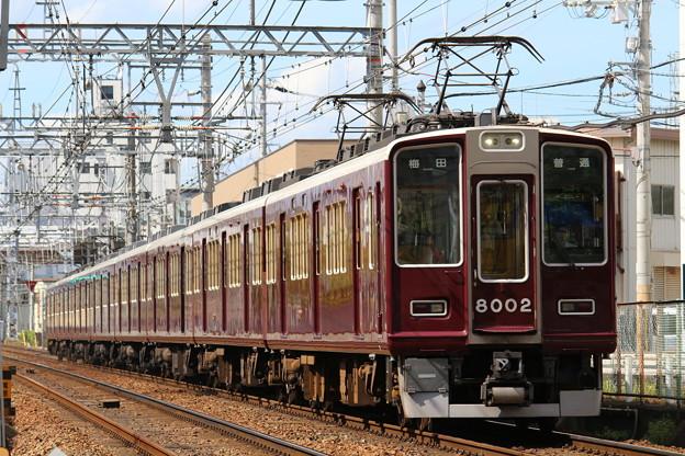 阪急8000系C#8002×8R
