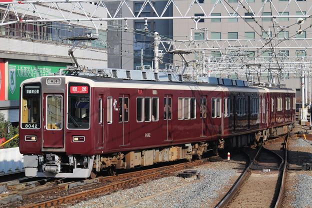 阪急8000系C#8042×2R+7000系C#7004×8R
